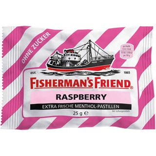 Fishermans Friend Himbeer o.Z. 24 St.