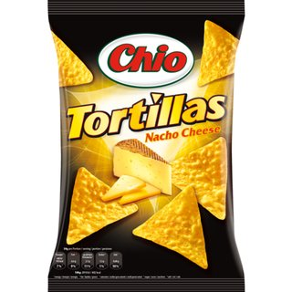 Chio Tortillas Nacho Cheese 10 St.