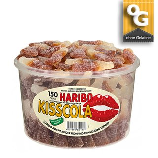 Haribo Kiss Cola 150 St.